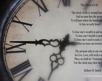 Clock numbers, Life, poems, quotes, sayings, Clock of Life