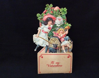 Victorian Fold-Out Valentine