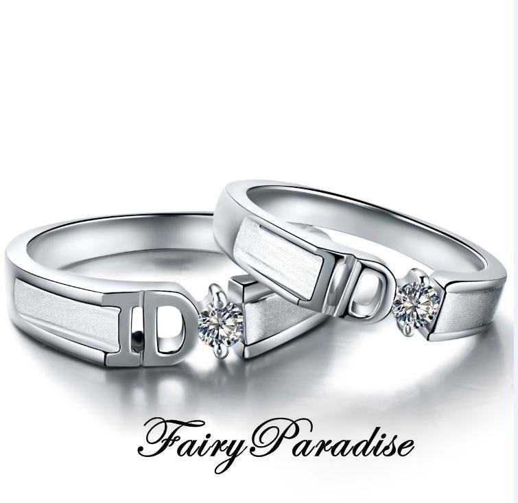 promise rings for i do wedding ring set