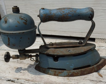 Antique Iron, made by Coleman Lamp Co, Toronto Canada