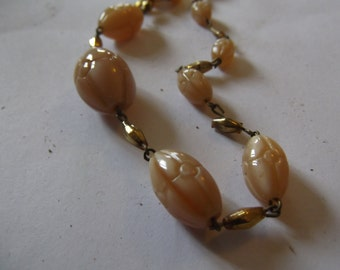 length of vintage beads