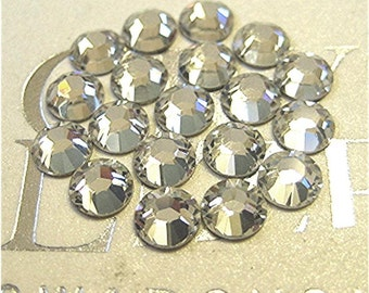 Swarovski Crystal Flat Back Rhinestone 144 Pieces