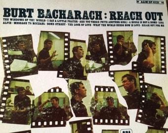 Burt Bacharach - Reach Out - vinyl record