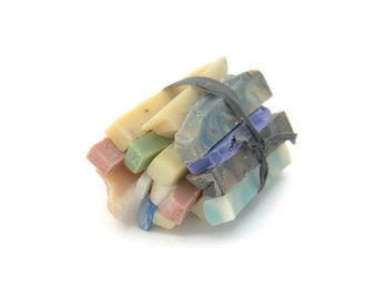 Soap Bits and Pieces, Assorted, Single Use Soaps, Travel Size Soap