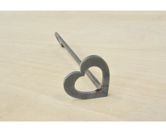 "Heart Branding Iron, Steak Brand, Wood Burning, Wedding Decor 2"" - 11293"