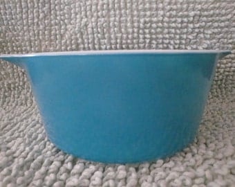 FREE SHIPPING Pyrex Horizon Blue 474