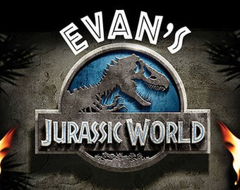 Jurassic World Sign OR Jurassic Park- Poster- Banner! PRINTABLE!