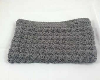 Handmade Crocheted Zippered Pouch with Matching Lining