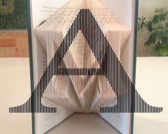 Folded Book Pattern: Alphabet Monograms 2 by DIYMarta