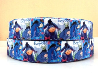 5 YDS Eeyore Ribbon