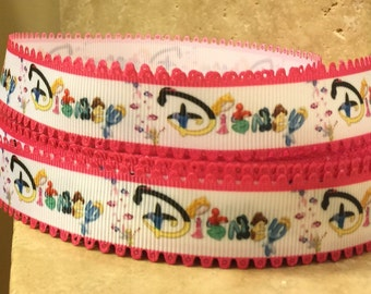 5 YDS Princess Logo Ribbon