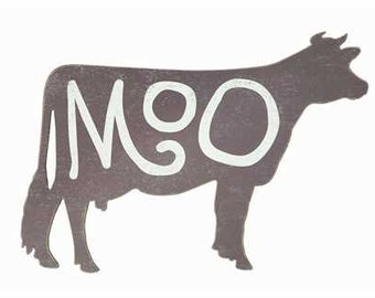 Moo Cow Cutout