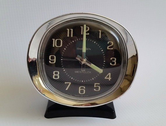 Items Similar To Vintage Westclox Baby Ben Wind Up Alarm