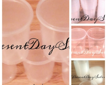 32 oz. Clear Plastic Storage Containers with Lids   Sets of 12, 25, 50,100,200   *Free Shipping*