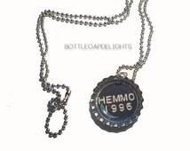 Luke Hemmings Inspired Bottlecap Necklace