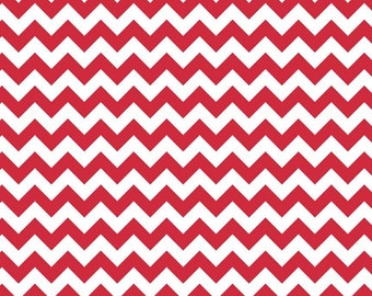 Red Small Chevron, from Riley Blake Designs