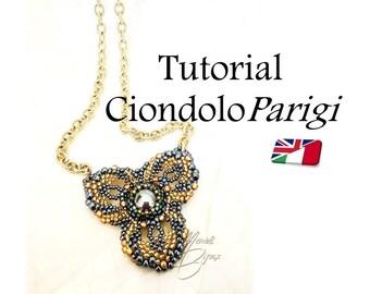 """Pattern - Pendant """"Paris"""""""