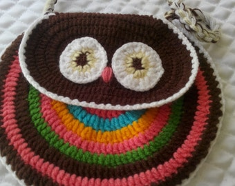 Handmade whole wool handbag