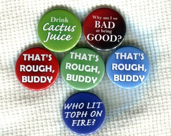 """1.25"""" Avatar: The Last Airbender quote Pinback Button"""