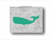 BUY 2 GET 1 FREE Modern Abstract Industrial Whale Cachalot Poster Sperm Whale Printable Nursery Wall Art Decor Poster Print