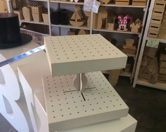Cake pop stand, 2 tiers, big capacity