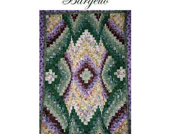Sale - Floral Bouquet Bargello Quilt Top Pattern