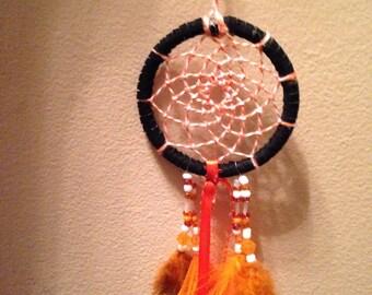 Black & Orange Dreamcatcher