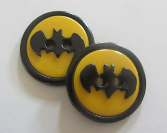 Batman Buttons ~ Set of 2