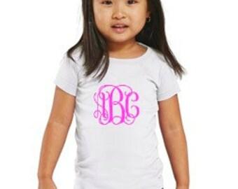 Toddler Monogrammed Shirt