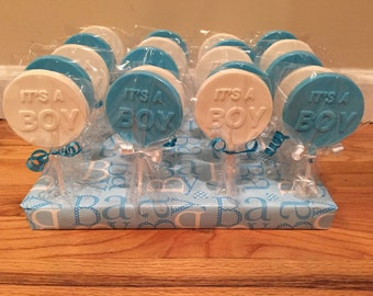 Its A Boy Chocolate Lollipops