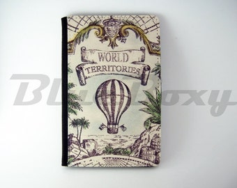 Vintage Balloon Passport Cover - Passport Holder, Passport Wallet