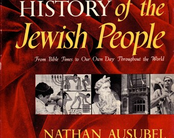 Pictorial History of Jewish People by Ausubel, Hardcover
