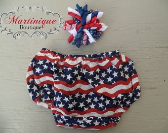 4th of July Diaper Cover