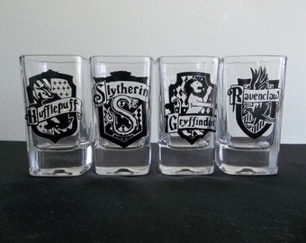 Hogwarts House (Harry Potter) Personal Shot Glasses