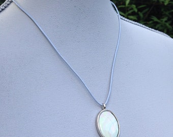 Watercolor Swirl Necklace