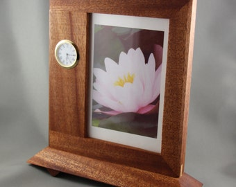 Picture Frame with an inset clock