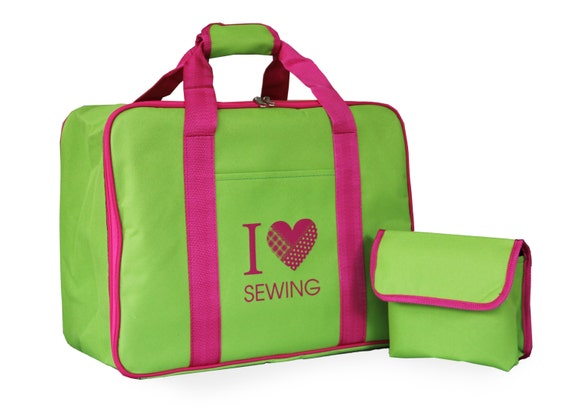 Sewing machine carry bag storage and transport