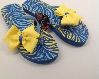 CinderBOWtique style flip flops