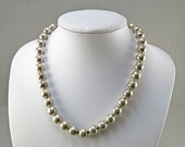 Vintage Sterling Necklace Silver Beadead Necklace Vintage Jewelry