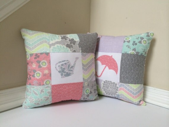 Spring decorative pillows-set of 2