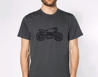 KillerBeeMoto: Limited Release Custom GS450 Cafe Racer Build By John Sinclair Short & Long Sleeve T-Shirt