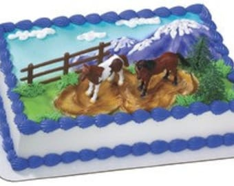 Horses cake kit