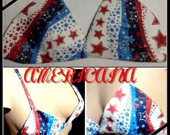 Americana Bra Top - Bikini Style