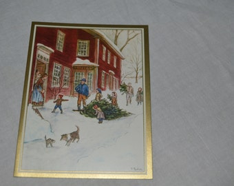 This is a lovely Tasha Tudor card