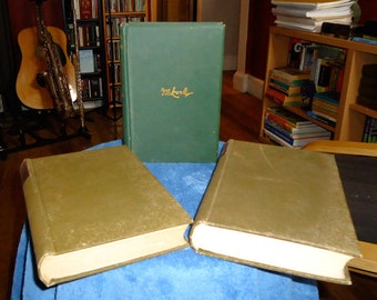 Set of 3 Books by James Russell Lowell – published 1880's – 1890's  by Houghton Mifflin & Co.