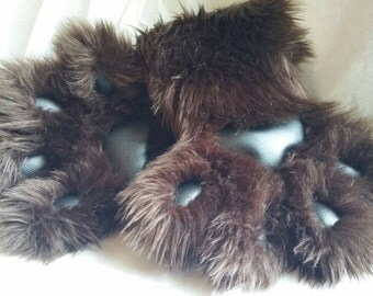 FURSUIT paws-dark brown/black