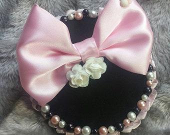 Pink fascinator *sample sale*