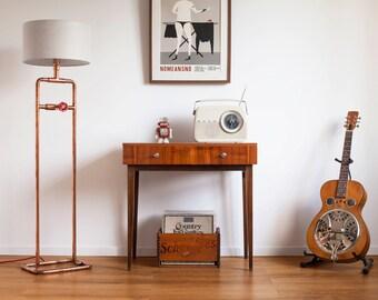 Copper Pipe Floor Lamp GIGANTO Copper Floor Lamp