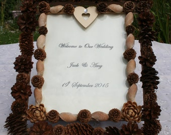 Rustic Wedding Frame