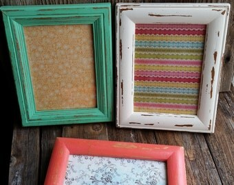 5x7 Distressed Picture Frames (set of 3)